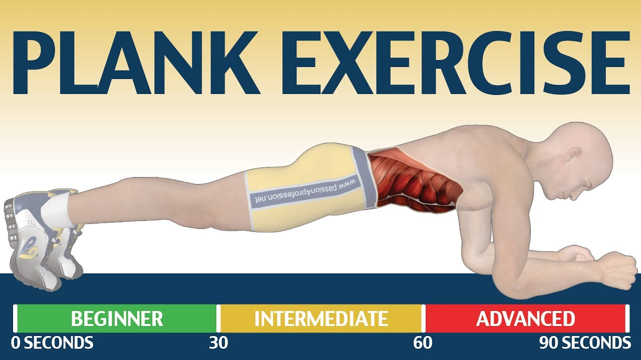 Planking exercise muscles