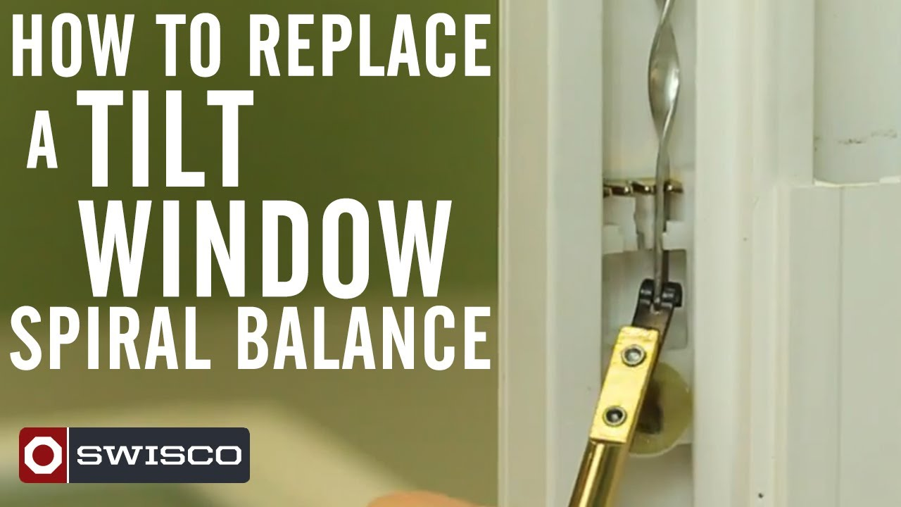 How to replace a tilt window spiral balance youtube for How to replace a window