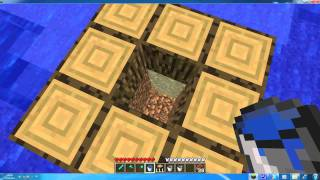 Cool Water Tricks In Minecraft (Under Water Tornado) :P