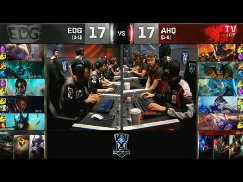 33 01 10 2016 EDG vs AHQ Vòng Bảng CKTG 2016