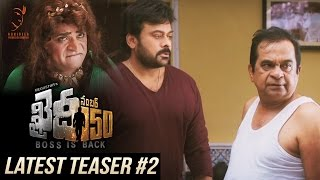 Khaidi No 150 Latest Teaser #2
