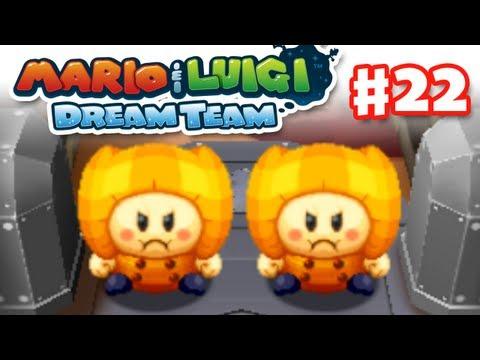 Mario Luigi Dream Team Gameplay Walkthrough Part Mammoshka