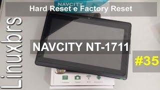 Navcity NT-1711 Hard Reset Formatando O Tablet PT-BR