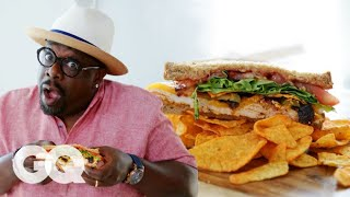Cedric the Entertainer Makes the World's Greatest Man-wich | GQ