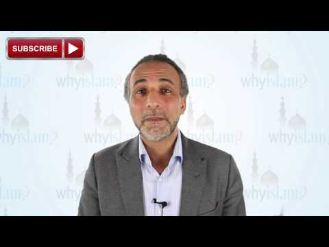 Being thankful to God by conserving water, environment and nature | By Dr. Tariq Ramadan