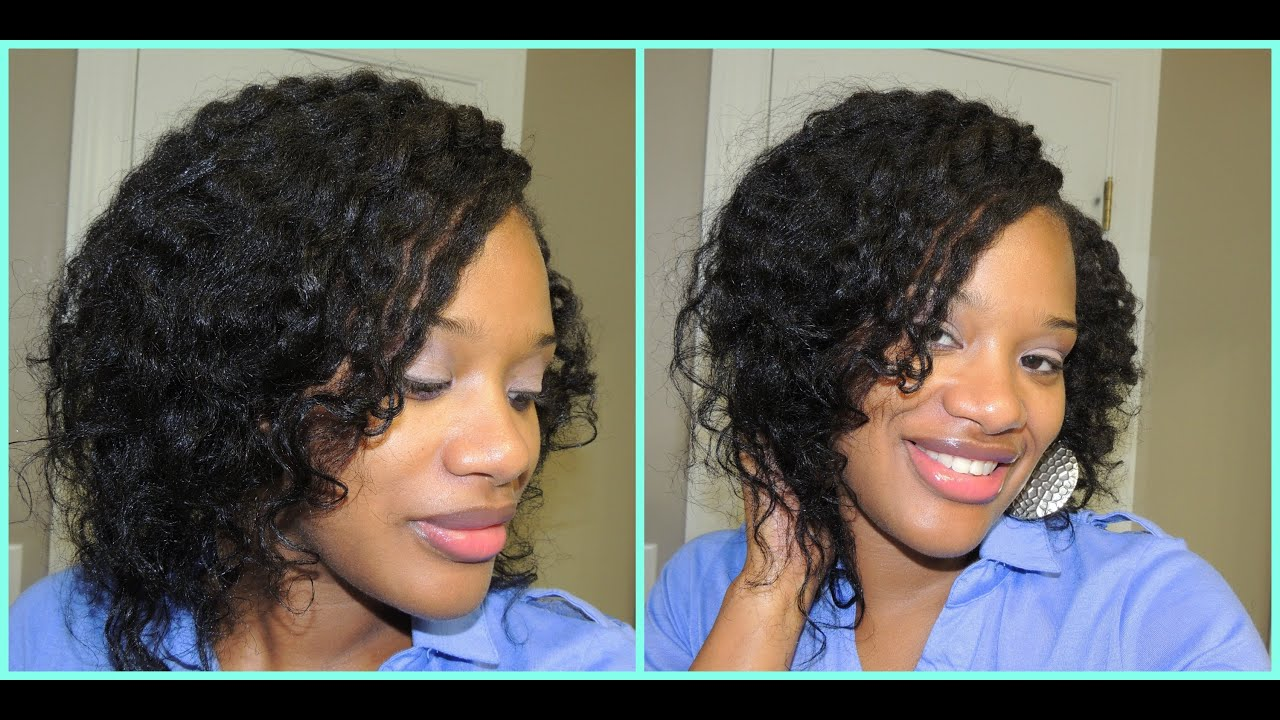 Transitioning Hairstyles For Short Hair Youtube : 19} Two Strand Flat Twist Out....Texlaxed/Relaxed Hair - YouTube