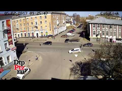 ДТП с мотоциклом на Ленина