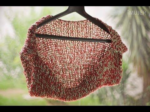 Cómo hacer un chaleco tejido a dos agujas