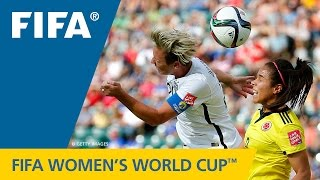 HIGHLIGHTS: USA v. Colombia - FIFA Women's World Cup 2015 - Duration: 2:25.