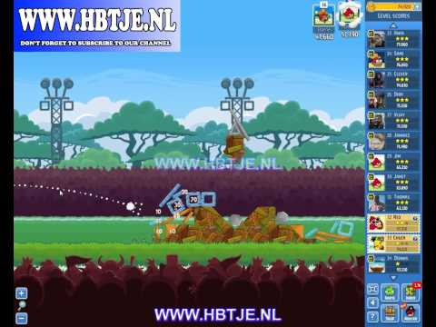 Angry Birds Friends Tournament Level 4 Week 115 (tournament 4) no power-ups