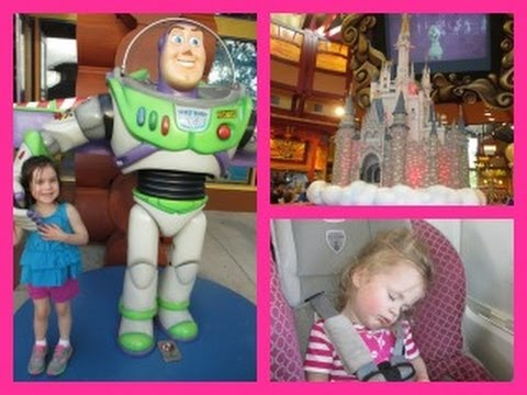 Disney Vacation Vlog: On our way to Disney World! (April 4, 2014)