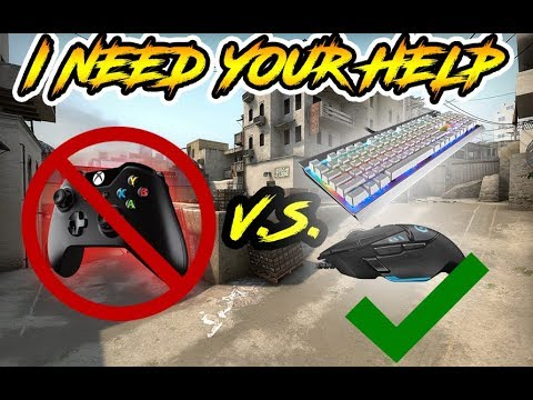 CS:GO PC- i AM SO BAD AT KEYBOARD AND MOUSE!!! i NEED YOUR TiPS AND ADViCE!!!!
