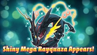 Get a Shiny Rayquaza with Dragon Ascent!