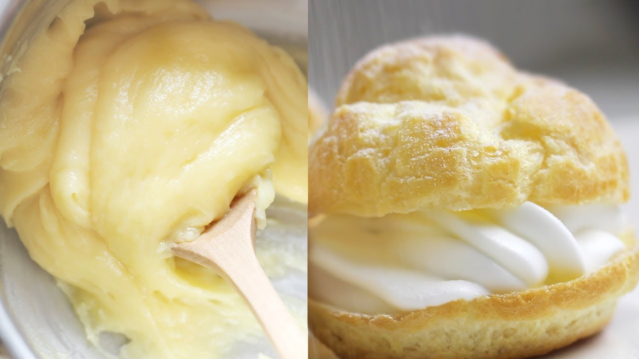 Basic Choux Pastry Dough Recipe