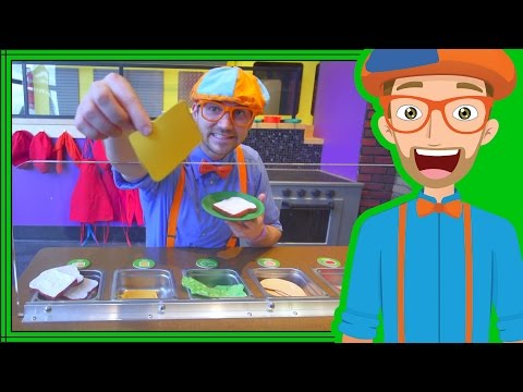 Blippi Learns at the Childrens Museum  Videos for Toddlers