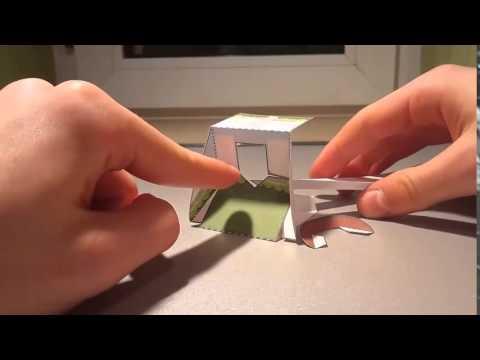 Jak wykonać ruchomy papercraft z motywem Angry Birds