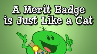 Preposition Song from Grammaropolis, A Merit Badge Is Just Like a Cat