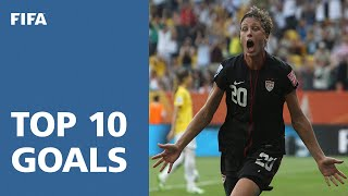 Top 10 Goals: FIFA Women's World Cup Germany 2011