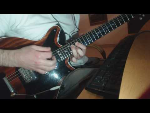 Queen Live Aid 1985 - Hammer to Fall -  Solo cover
