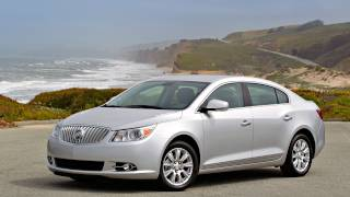 2012 Buick LaCrosse eAssist - Drive Time Review with Steve Hammes videos
