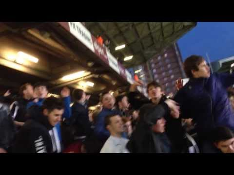 Newcastle United fans singing 'Don't Sell Cabaye'