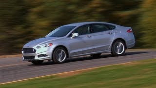 2013 Ford Fusion first drive from Consumer Reports videos