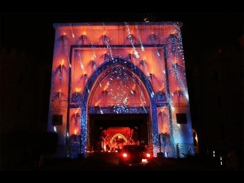 Dubai Festival Of Lights 2014 [Souk Al Bahar, Entry Gate]