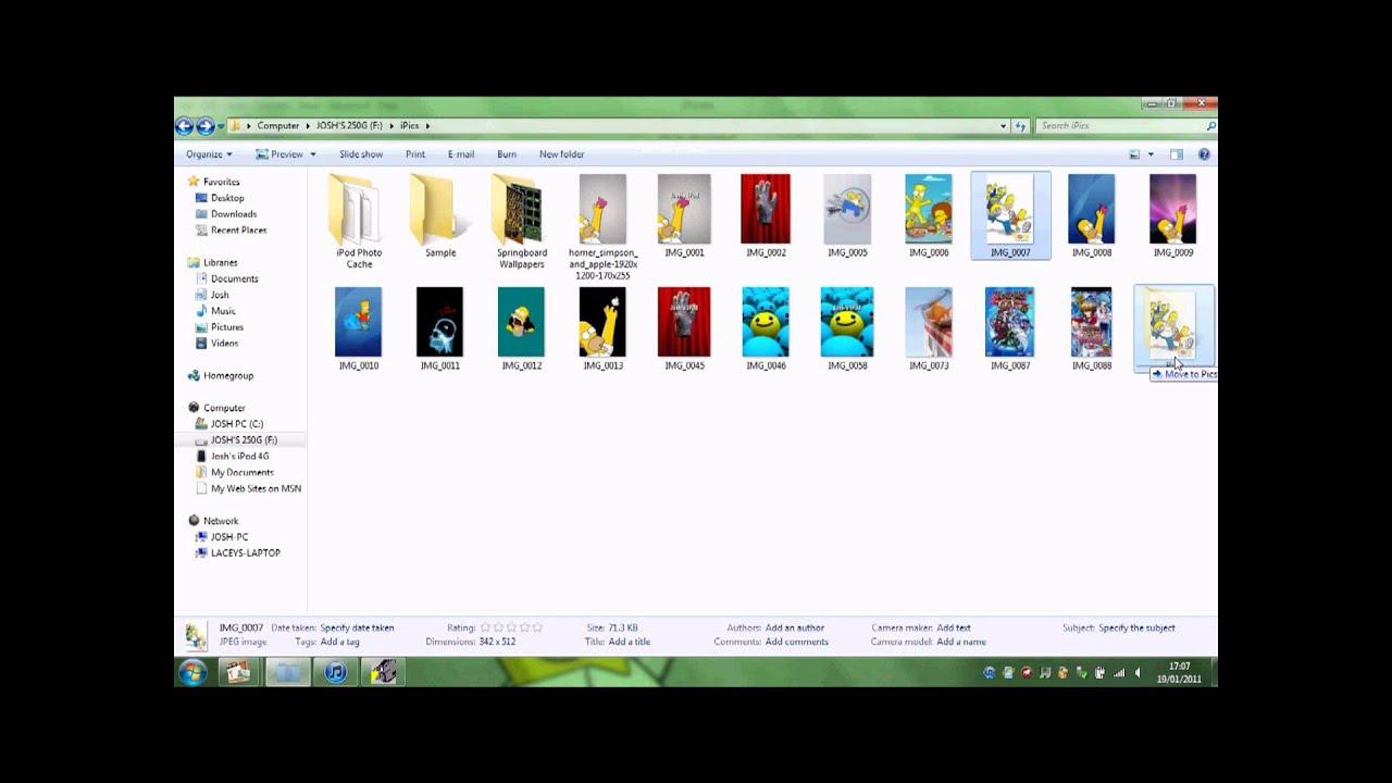how to create a folder on ipad for photos