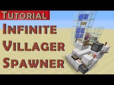 Minecraft Tutorial: Infinite Adult Villager Spawner v2 (works in 1.7.4)