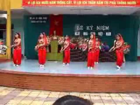 Bài múa chào mừng ngày nhà giáo Việt Nam trường THPT Vĩnh Yên
