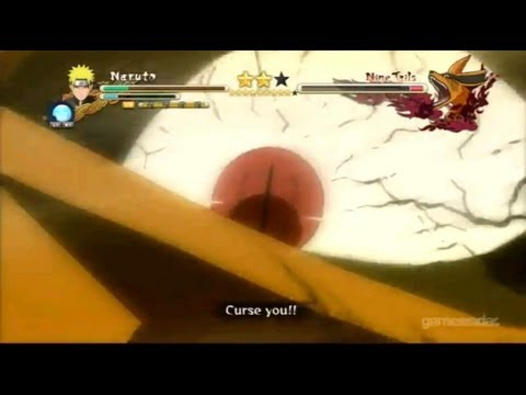 Naruto vs Nine Tails Full Boss Battle : Naruto Shippuden Ultimate Ninja Storm 3