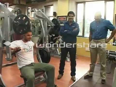 Sohail Khan,Himanshu Roy Crime mumbai visit Prabodh Davkhare Nitro Gym in Thane