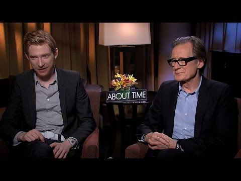 'About Time' Domhnall Gleeson and Bill Nighy Interview