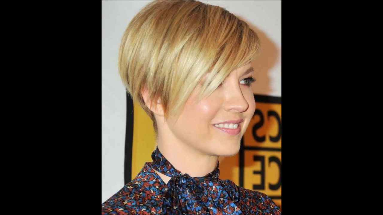 Short haircuts for women - YouTube
