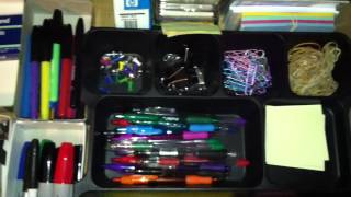 Organization For Less: Organizing Office/Crafting Supplies
