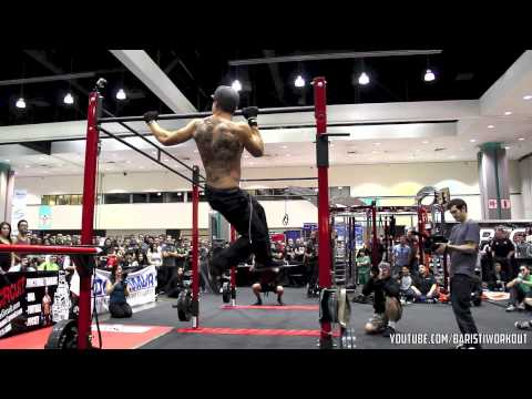 Battle of the Bars - Los Angeles Fit Expo 2013 Freestyle Calisthenics Contest