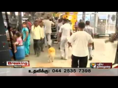 bomb blast in chennai central railway station : Update03