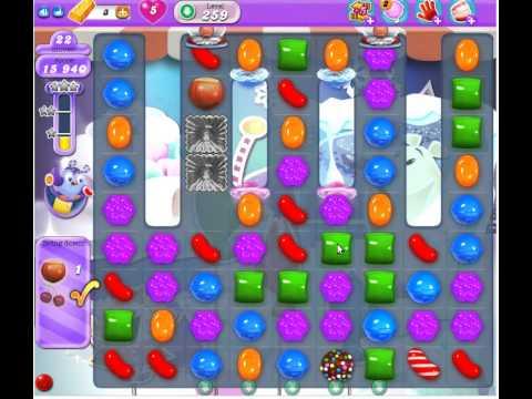 Candy Crush Saga Dreamworld Level 259