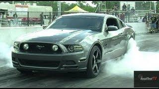 2013 Mustang GT Vs 2012 Cadillac CTSV By Redline