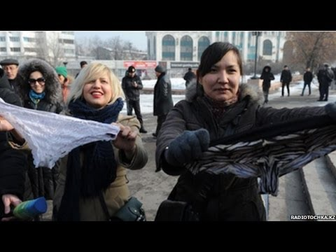 Why did lace underwear ban spark protests in Kazakhstan? BBC News