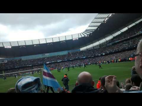 Manchester City 2-0 West Ham-Final Whistle-11/5/14