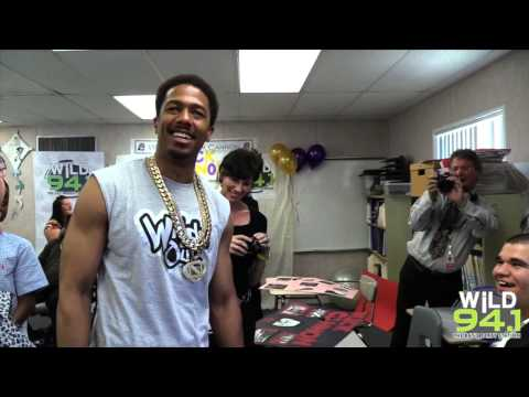 Nick Cannon Takes Over Hernando High School With WiLD 94.1