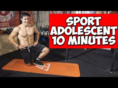 SPORT POUR ADOLESCENT EN 10 MINUTES !