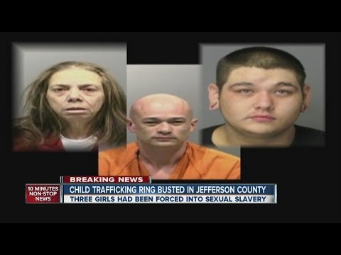 Child sex trafficking ring busted in Jefferson County