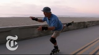 Slomo: The Doctor Who Rollerbladed off the Grind and onto the Beach