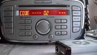 Ford V 6000 Series Unlocking Via RCD Tools