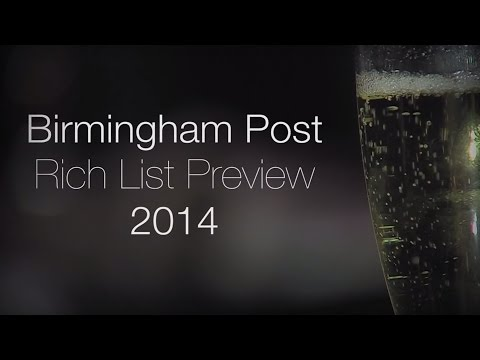 Birmingham Post - Rich List preview 2014