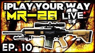 Call Of Duty: Ghosts MR-28 Marksman Rifle W/ Burst Fire