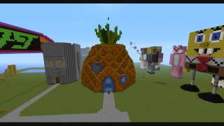 Minecraft House on On Minecraft  Spongebob Squarepant S Pineapple House  Epic    Youtube