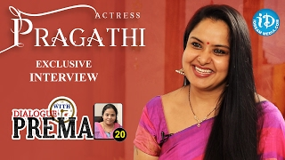 Actress Pragathi Exclusive Interview